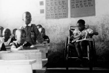 volunteer disabled children program Tanzania