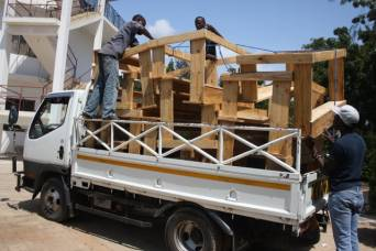 furniture making volunteering in Africa